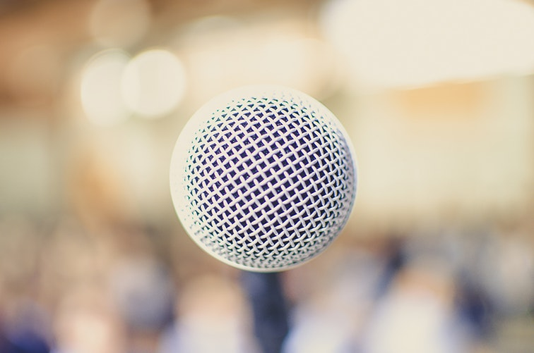 hiring a speaker