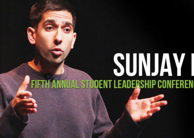 sunjay nath fifth annual student leadership conference